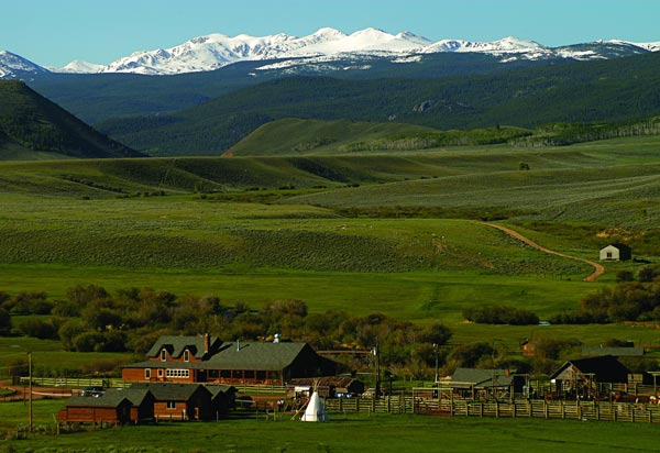Colorado's Rocky Mountains THE place for a dude ranch vacation.