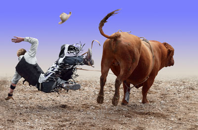 Bullriding - eight seconds is all it takes!