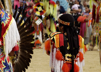 Cheyenne Frontier Days has a terrific Native American village to tour.